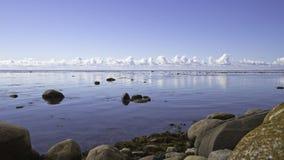 Calme sur l'océan arctique Image libre de droits