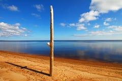 Calme sur le lac Photo libre de droits