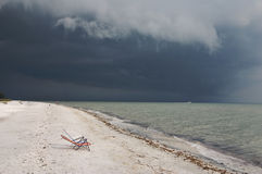 Calmez avant la tempête Image stock