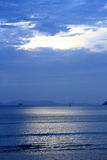 Calmez l'océan Image stock