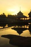 Calmness at Sunrise Royalty Free Stock Photos
