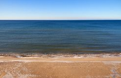 Calmy Baltic sea. Royalty Free Stock Images
