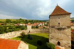 Calnic中世纪堡垒 免版税库存照片