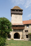 Calnic农民堡垒 库存图片