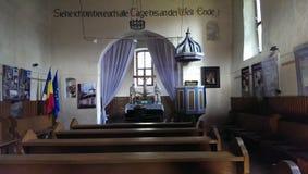 Calnic church Stock Photo