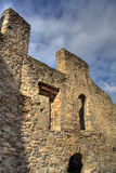 Calnic fortress. Detail of the Calnic Fortress in Romania royalty free stock images