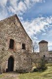 Calnic Landarbeiter-Festung Stockfotografie