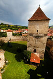Calnic Medieval Fortress Stock Photography