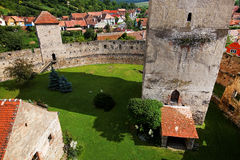 Calnic Medieval Fortress Royalty Free Stock Photos