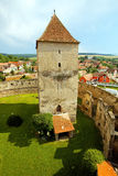 Calnic Medieval Fortress Stock Photo
