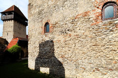 Calnic Medieval Fortress Stock Image