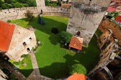 Calnic Średniowieczny forteca Zdjęcie Royalty Free