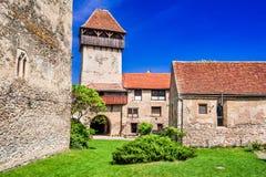Calnic, Siebenbürgen, Rumänien lizenzfreie stockbilder