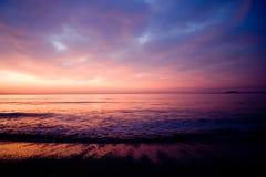 calo красное sky7 стоковое изображение