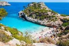 Calo DES Moro Beach, Majorca Stockfotografie