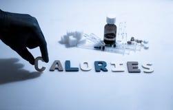 calorías imagen de archivo