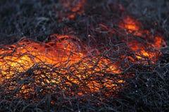 Calor do incêndio Imagens de Stock