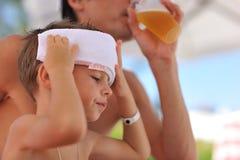 Calor do verão Imagem de Stock Royalty Free