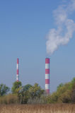 Calor e central elétrica Imagens de Stock