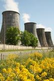 Calor e central energética Fotos de Stock Royalty Free