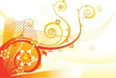 Calor floral Imagens de Stock Royalty Free