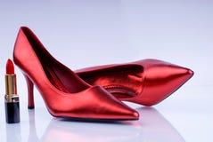 Calor vermelho Fotos de Stock Royalty Free