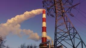 Calor y central eléctrica combinados metrajes