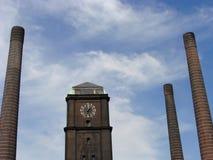 Calor y central eléctrica Imagenes de archivo