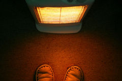 Calore del riscaldatore Fotografie Stock