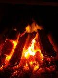 calore dell'inferno Immagini Stock
