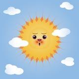 Calore di estate - Solleone Fotografie Stock