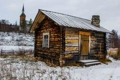 Calore di inverno, Finlandia Fotografie Stock Libere da Diritti