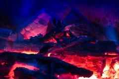 Calore nella notte fresca Fotografie Stock Libere da Diritti