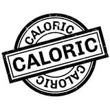 Caloric rubber stamp Stock Photos