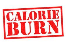 CALORIE BURN Stock Images