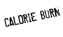 Calorie Burn rubber stamp. Grunge design with dust scratches. Effects can be easily removed for a clean, crisp look. Color is easily changed Royalty Free Stock Images