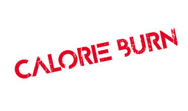 Calorie Burn rubber stamp Royalty Free Stock Image