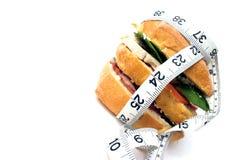Calorie contre-? Photographie stock libre de droits