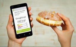 Free Calorie Counter Concept Stock Photography - 77981122