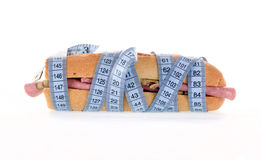 Calorie del panino Fotografia Stock Libera da Diritti