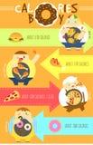 Calorie di ragazzo Immagine Stock Libera da Diritti