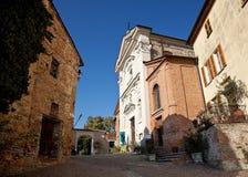Calosso, vicino ad Asti, l'Italia Immagini Stock Libere da Diritti