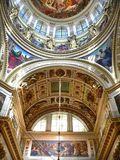 Calotte of Cathedral. Calotte of the St. Isaacs Cathedral in St. Petersburg Russia Royalty Free Stock Images