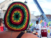 Calotte de Rastafarian Images libres de droits