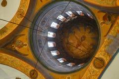 Calotte della cattedrale ortodossa orientale Fotografie Stock