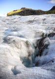 Calotte glaciaire d'Icelands Photos stock