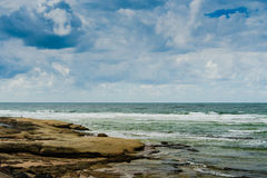 Caloundra Rocks Royalty Free Stock Photos