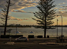 Caloundra Waterfront, Sunshine Coast, Queensland Stock Images