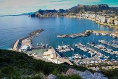 Calp Penial difach, Valencia y Murcia, Spain Royalty Free Stock Image