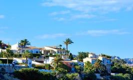 Calp town summer view, Spain. Stock Photo